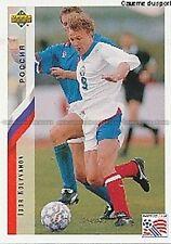 N°211 IGOR KOLYVANOV RUSSIA TRADING CARDS UPPER DECK WORLD CUP USA 1994