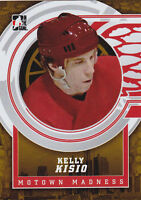 12-13 ITG Kelly Kisio /10 Motown Madness GOLD Base Red Wings 2012