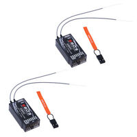 2pcs S603 DSMX & DSM2 Spektrum Compatible JR Receiver 7 Channels 2.4GHz