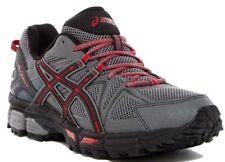 NIB ASICS GEL-Kahana 8 Men's Running Shoes Shark/Black/True Red Size 12