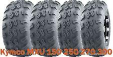 Set 4 WANDA UTV ATV Tires 22x7-10 & 22x10-10 for Kymco MXU 150 250 270 300