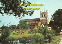 L056469 Essex. Waltham Abbey. The Abbey the Moat and the Mill Stream. Topical Pr