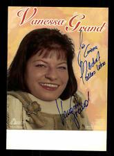 Vanessa Grand Autogrammkarte Original Signiert ## BC 88747