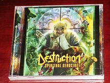 Destruction: Spiritual Genocide CD 2013 Bonus Tracks Nuclear Blast NB 3041-2 NEW