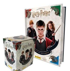 Harry Potter - Las películas The movies PANINI Stickers 1 BOX + Hardcover album