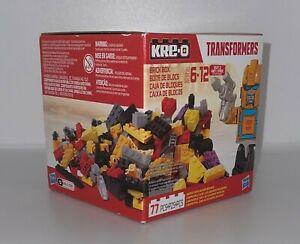 Kre-O Transformers Bumblebee Brick Box 77 pc Building Blocks Set