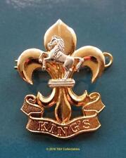 KING'S REGIMENT 2003 CAP BADGE