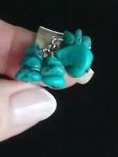 Sterling Silver 925 Cha Cha Tourquoise RING~ SZ 7