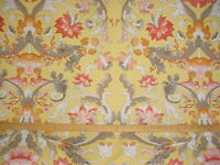 16-1/2Y Scalamandre M7 00021370 Mouret Yellow Gold French Upholstery Fabric