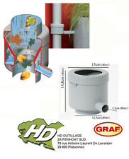récupérateur d'eau de pluie GRAF filtrant GRIS   DESTOCKAGE