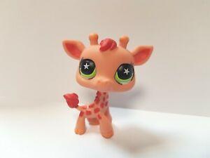 figurine PETSHOP original savane Girafe 943 pet shop lps (1 )