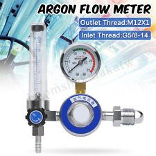 Argon CO2 Pressure Gas Mig Tig Flow Meter Regulator Welding Gauge Welder G5/8 AU