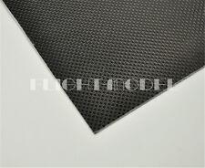 400mmX500mmX0.5mm 100% Carbon Fiber plate panel sheet 3K plain Weave Glossy