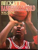 NBA MICHAEL JORDAN BECKETT BASKETBALL MAGAZINE ISSUE #1