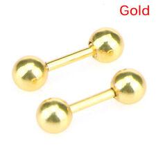 Stainless Steel Barbell Ear Cartilage Tragus Helix Stud Bar Earrings Piercing =T