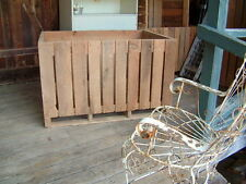 Oak Wood Apple Crates, great Porch Swing, from Appalachian Mountains 4 Ft X 3 Ft