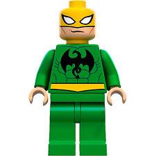 Lego Marvel Super Heroes Minifigure Iron Fist Ironfist 6873  **New** **Mint**