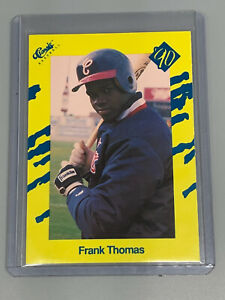 Frank Thomas 1990 Classic Yellow Update T93 Chicago White Sox