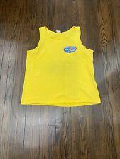 Vintage 1996 Camel Beach Blast Tank Top Men's Extra Large Yellow