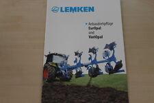 158057) Lemken Anbaudrehpflug EurOpal VariOpal Prospekt 04/2012