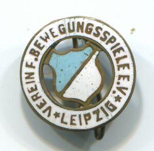 Fußball-Abzeichen vor 1945: VEREIN für BEWEGUNGSSPIELE E.V. LEIPZIG/ VfB Leipzig