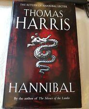 Thomas Harris - Hannibal - 1st/1st 1999 Heinemann First Edition Hardback with DJ