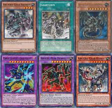 Michel Roget Complete Deck - Chaos - Soldier - Geartown - Reactor -NM - 47 Cards