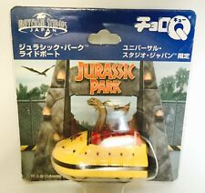 JAPAN TOMY CHORO Q UNIVERSAL STUDIO JURASSIC PARK BOAT THE RIDE CAR RARE