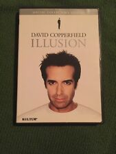 DAVID COPPERFIELD - ILLUSION AUTHENTIC USA DVD OUT OF PRINT