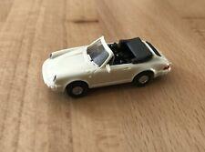 Wiking Porsche 911 C Cabrio M 1:87 HO Weiß