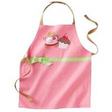Girls Apron Pink Cupcake Reversible Adjustable Kohls St Nicholas Square NEW