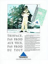 Publicité Advertising 108  1991   vetements ski Trispace