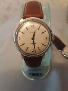 Vintage  Rare 1960s Timex Marlin Men's Mechanical Watch Keeps Great Time