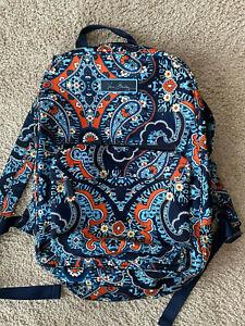 Vera Bradley backpack - petal paisley - Used once