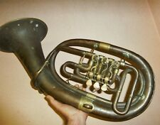 ANTIGUE BRASS AUG CLEMENS GLIER TUBA