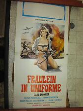 LOCANDINA ORIGINALE DEL FILM FRAULEIN IN UNIFORME