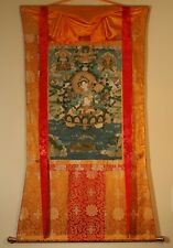 Thangka Tibet Nepal White Tara Masterpiece ca. 1977