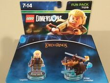 LEGO Dimensions 19981-6122901 Toy Tag Disc Disque Legolas NEUF NEW
