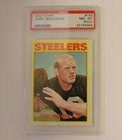 1972 Topps #150 Terry Bradshaw HOF PSA 8 (OC) Steelers