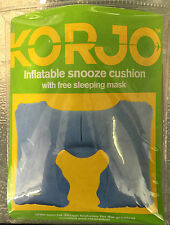 Korjo Inflatable Snooze Cushion (SC70) With Sleep Mask