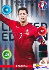 2016 Panini Adrenalyn EURO France EXCLUSIVE Cristiano Ronaldo Limited Edition