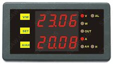 Voltage Battery Monitor DC 200V 50A Volt AMP Battery Monitor Capacity Test Meter