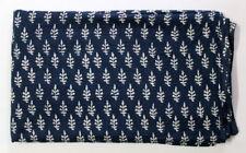 Vegetable Dyed Anokhi Running Indian Block Print Hand Block 100% cotton Fabric