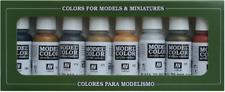 Vallejo Metallics Model Color Acrylic Paint Set # 70118