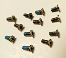 12x Laptop screws M2.5x5mm