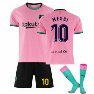 Hot 21/22 All Kids Football Kits Boys Youth Adult Soccer Shirt Training Suits UK