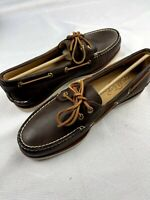 Sperry Gold Cup A/O Brown Boat Shoe Men's 0219493 Men's Size 9