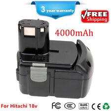 NEW Battery for HITACHI EBM1830 BCL1815 WR18DL 4000mAh 18VOLT Li-ion WH18DL