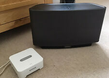 SONOS Play 5 (Gen.1) & Bridge Black - Immaculate...