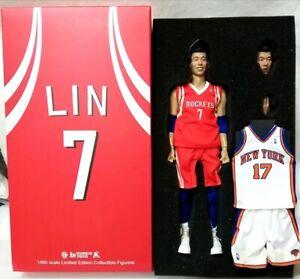 KUNCH TOYS 1/6 NBA NEW YORK KNICKS & HOUSTON ROCKETS Jeremy Lin (Linsanity)